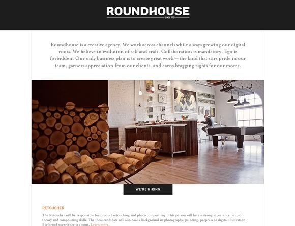 Roundhouse<br /> http://roundhouseagency.com/