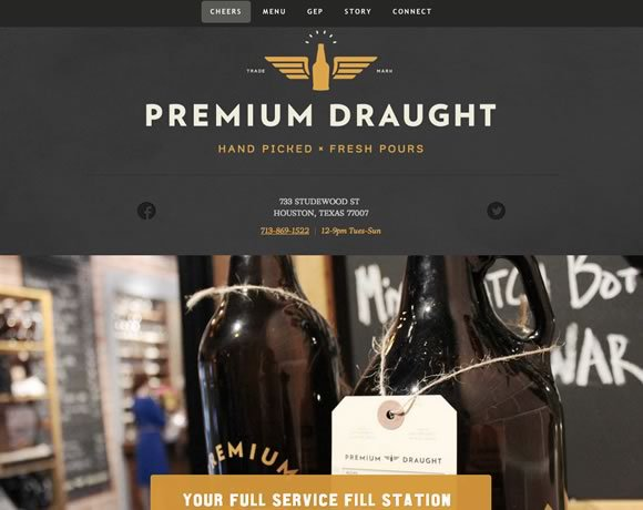 Premium Draught<br /> http://premiumdraught.com/