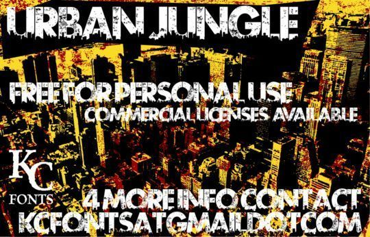 Urban Jungle<br /> http://www.dafont.com/urban-jungle.font