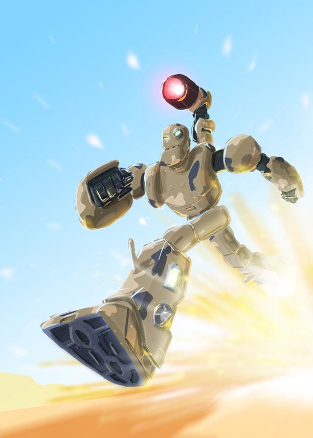 Solitudo机器人<br /> http://traditionaldanimatio.deviantart.com/art/Solitudo-Robot-120684378