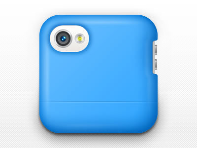 iPhone Case http://dribbble.com/shots/798100-iPhone-Case-Icon