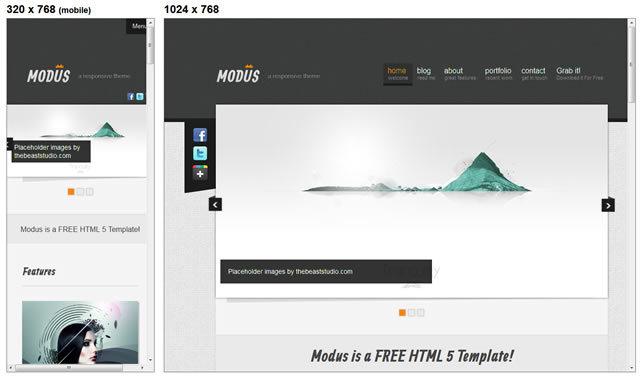Modus<br /> http://luiszuno.com/blog/downloads/modus-html-template/