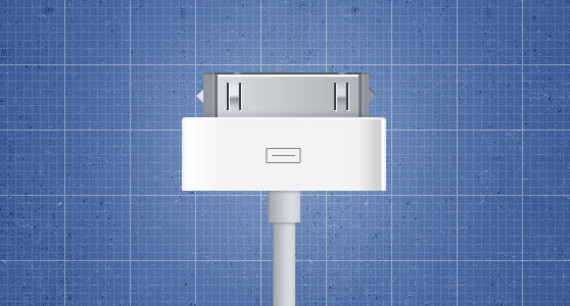 在photoshop中绘制一个IOS数据线<br /> http://wegraphics.net/blog/tutorials/illustration-tutorial-creating-an-ios-device-connector-in-photoshop/