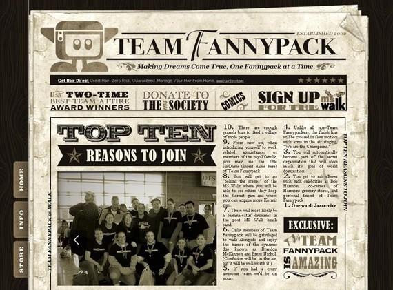 Team Fanny Pack<br /> http://teamfannypack.com/