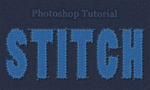 Stitch Text in Photoshop<br /> http://www.psd-dude.com/tutorials/photoshop.aspx?t=photoshop-stitch-text