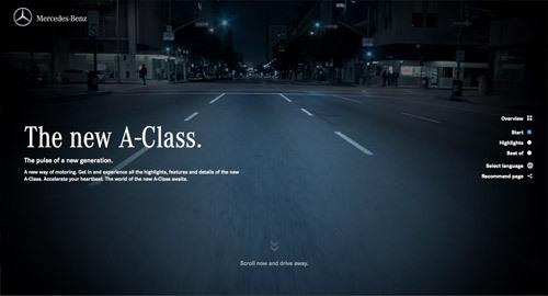 Mercedes-Benz A-Class<br /> http://a-class.mercedes-benz.com/com/en/