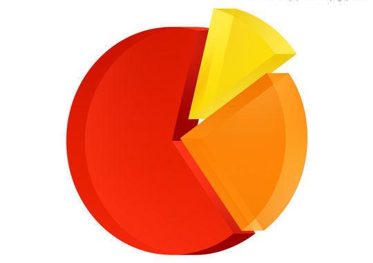 饼状图表图标<br /> http://www.psdgraphics.com/psd-icons/pie-chart-icon-psd/