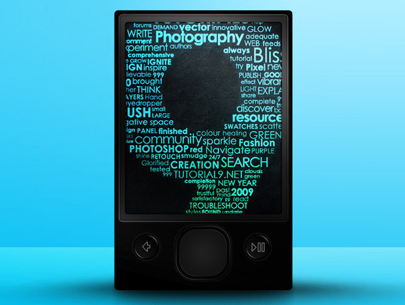 用Photoshop创建一个基于矢量的Zune<br /> http://www.tutorial9.net/tutorials/photoshop-tutorials/create-a-vector-based-zune-with-photoshop/