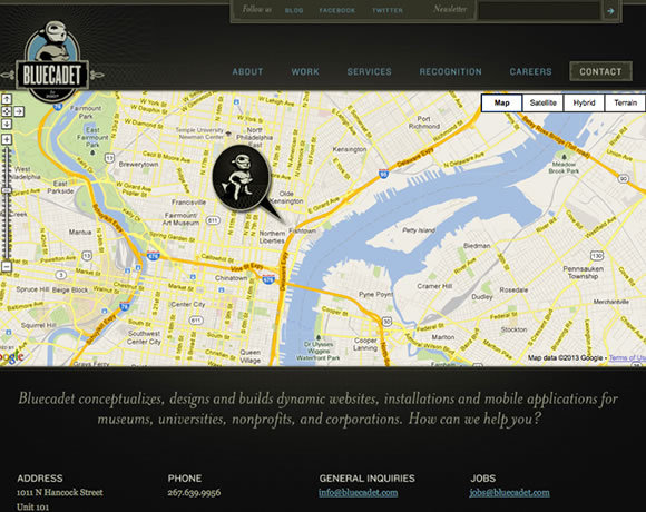 Bluecadet<br /> http://bluecadet.com/contact