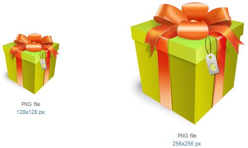 礼品盒图标<br /><br /> 16×16像素,24×24像素,32×32像素,48×48像素,64×64像素,72×72像素,96×96像素,128× 128像素和256×256像素<br /><br /> http://www.softicons.com/free-icons/holidays-icons/gift-ii-icons-by-miniartx/gift-box-icon