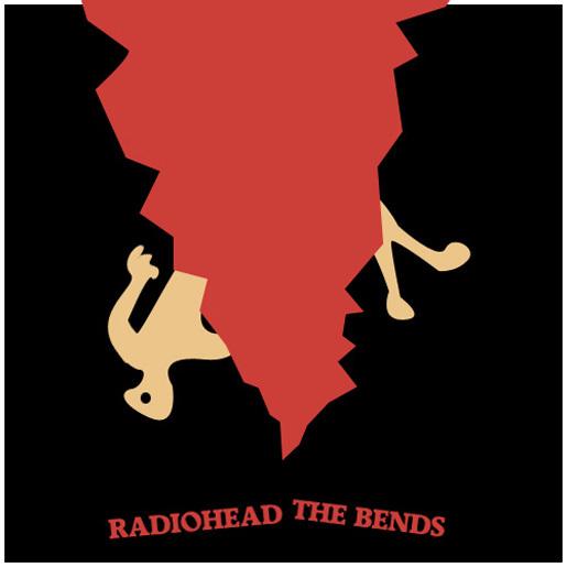 """Radiohead's """"The Bends"""" by Danix54<br /> http://danix54.deviantart.com/art/Album-redo-The-Bends-182600218"""