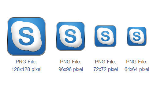 Skype图标<br /> http://www.iconarchive.com/show/simple-rounded-social-icons-by-graphics-vibe/skype-icon.html