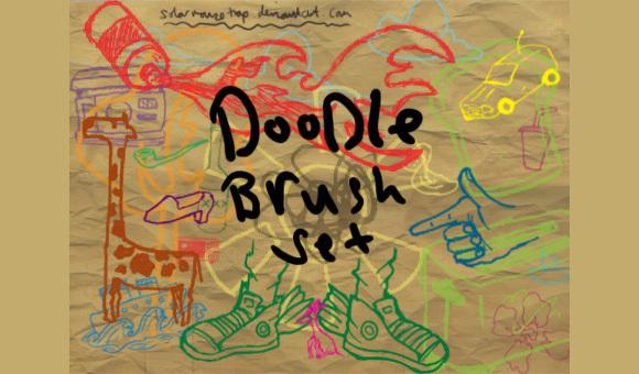 涂鸦套刷<br /> http://solarmousetrap.deviantart.com/art/Doodle-Brush-set-112561567