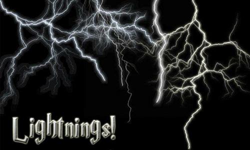Lightning Brushes<br /> http://wyckedbrush.deviantart.com/art/Lightning-Brushes-27284013