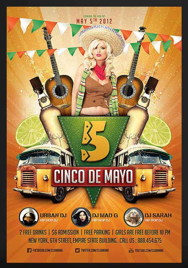 Cinco de Mayo Party Flyer 2<br /><br /> http://saltshaker911.deviantart.com/art/Cinco-de-Mayo-Party-Flyer-2-296526452