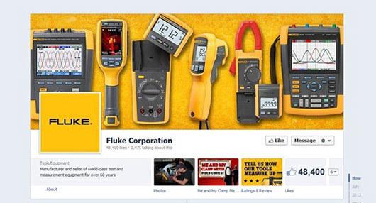 Fluke<br /> http://www.facebook.com/fluke.corporation
