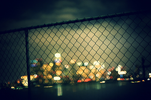 behind the fence-keh