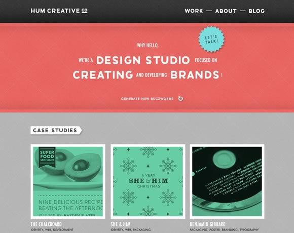 Hum Creative Co<br /> http://humcreative.com/