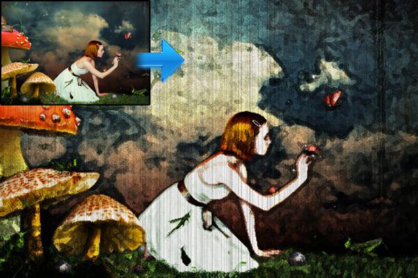 在Photoshop绘制素描和绘画效果 http://aceinfowayindia.com/blog/2009/07/sketch-and-painting-effect-in-photoshop/