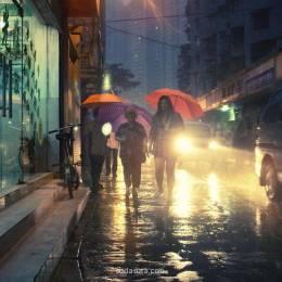 Peter Lee 城市与雨