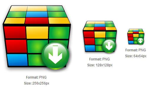 益智立方体下载图标<br /> http://iconbug.com/detail/icon/1934/puzzle-cube-download/