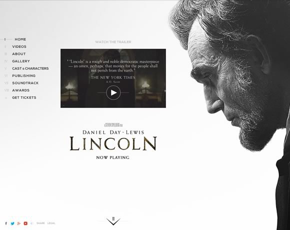 Lincoln<br /> http://www.thelincolnmovie.com/