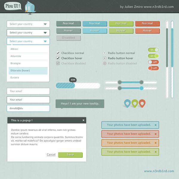 Piou UI<br /> http://www.icondeposit.com/design:66