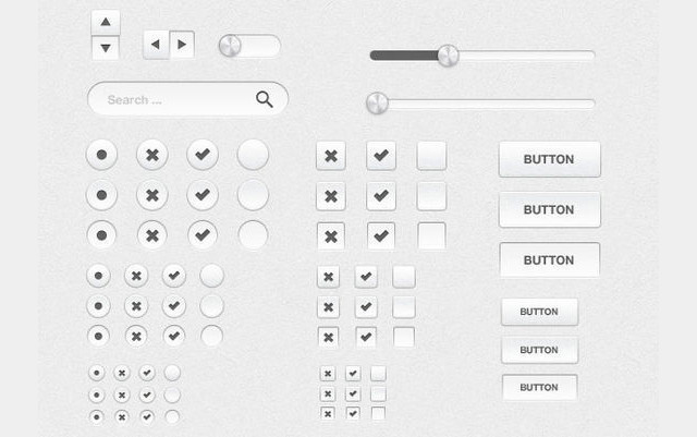 Silver UI Kit<br /> http://www.webdesignerdepot.com/2012/04/free-download-silver-ui-kit-psd/