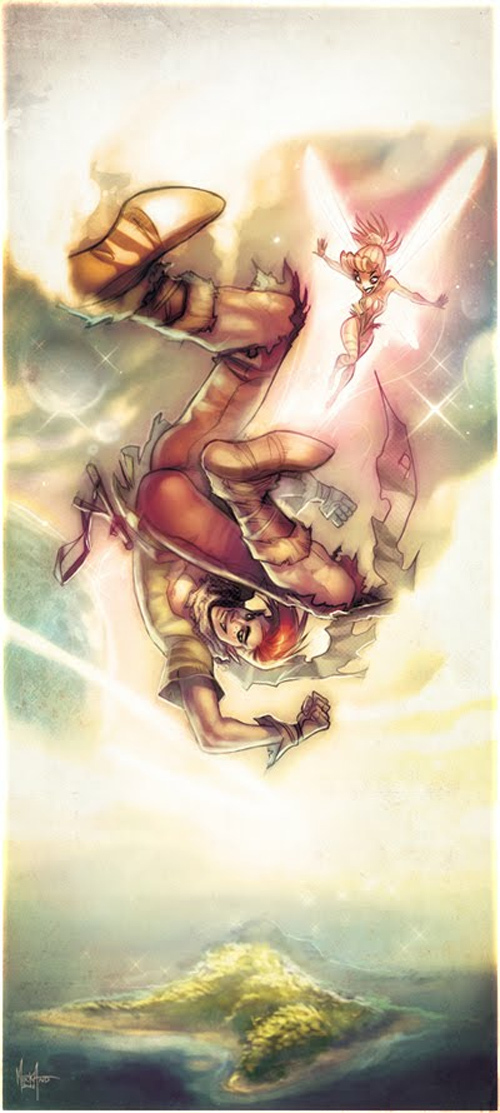 Peter Pan<br /> http://anivorysoul.deviantart.com/art/Peter-Pan-304883483
