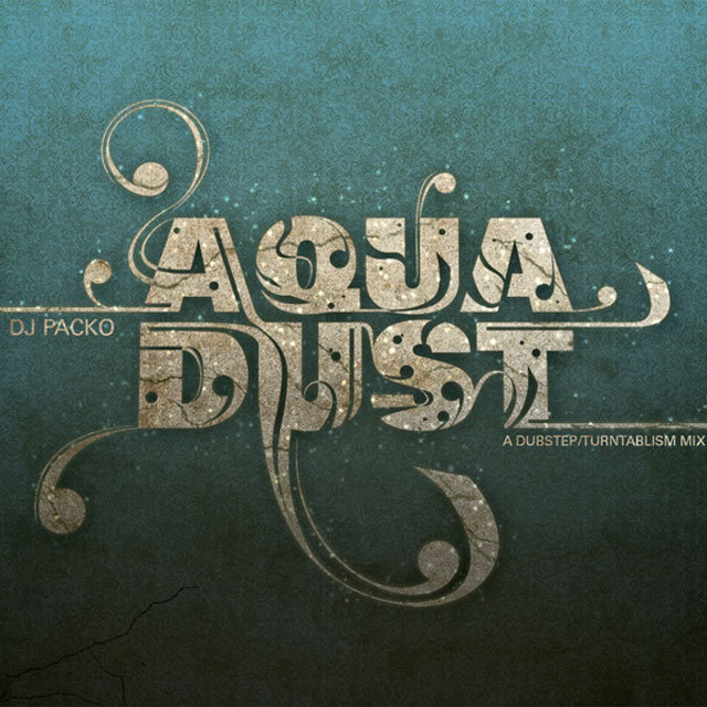 Aqua Dust<br /> http://www.behance.net/gallery/AquaDust-CD-Album-Cover/5340003