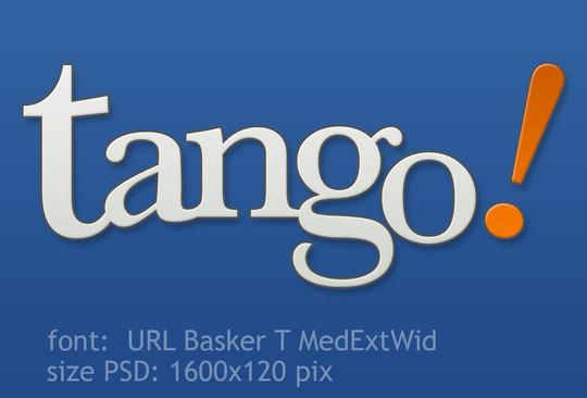 Tango Logo PSD<br /> http://vicing.deviantart.com/art/Tango-Logo-PSD-99757941