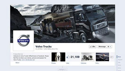 Volvo Trucks<br /> http://www.facebook.com/VolvoTrucks