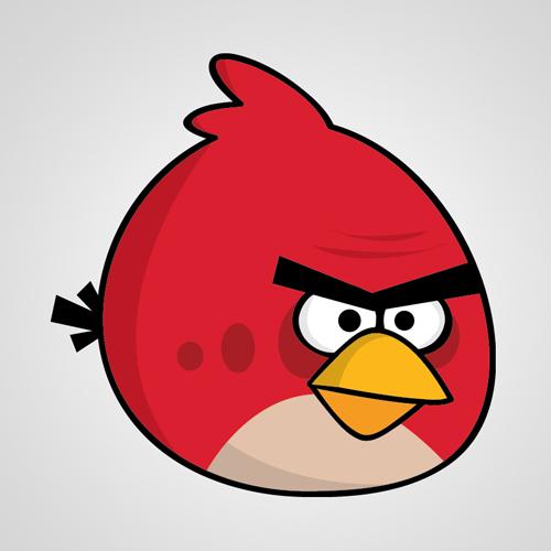 在Adobe Illustrator中如何创建愤怒的小鸟<br /> http://dawsongraphics.com/?p=39