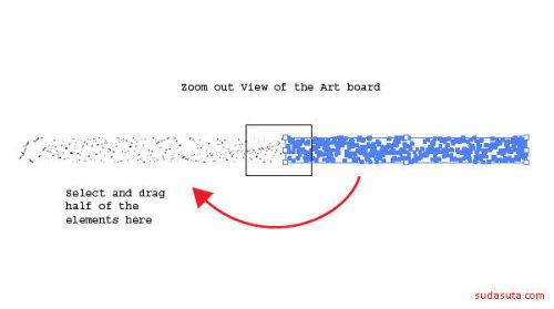 怎样在Illustrator中制作脏兮兮的喷溅效果