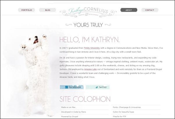 Kathryn Cornelius<br /> http://www.kathryncorneli.us/about