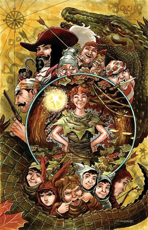 Peter Pan<br /> http://cpwilsoniii.deviantart.com/art/Peter-Pan-198460001