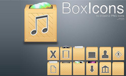 Box Icons<br /> http://skitterrusty.deviantart.com/art/Box-Icons-160798972