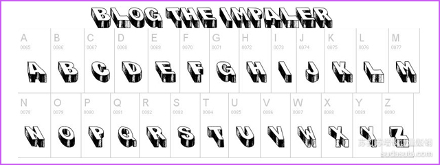 Blog the Impaler<br /><br /> http://www.dafont.com/blog-the-impaler.font
