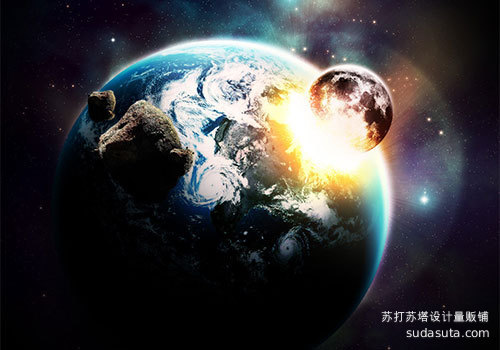 营造空间的爆炸现场<br /> http://www.smashingmagazine.com/2009/02/22/space-explosion-photoshop-tutorial/<br />