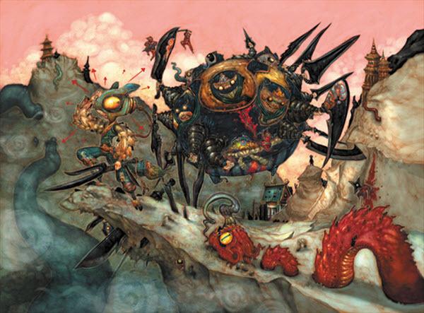 New Worlds<br /> http://www.imaginefx.com/02287754333236633788/painting-new-worlds.html
