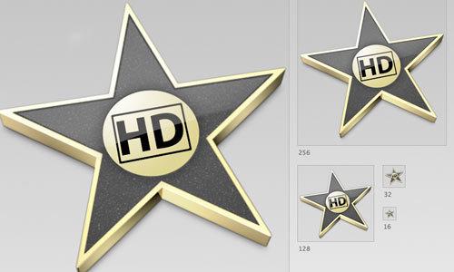 iMovie图标<br /> 一组PNG和ICNS文件格式的图标<br /> http://reitermarkus.deviantart.com/art/iMovie-HD-Icon-08-09-Style-133699072