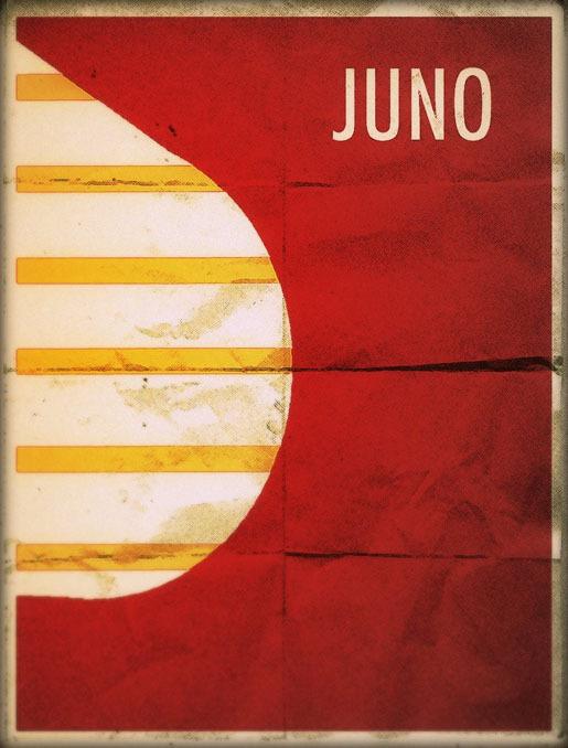 Juno by Theckboom<br /> http://theckboom.deviantart.com/art/Juno-Minimalist-Poster-260355031