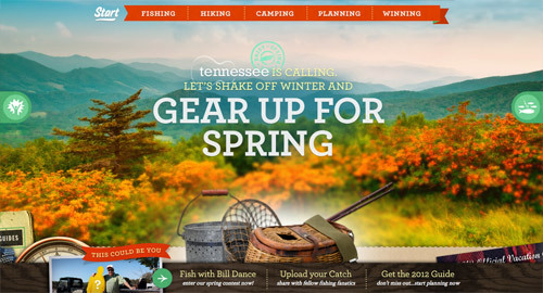 Springtime Tennessee Vacation<br /> http://spring.tnvacation.com/#!/start