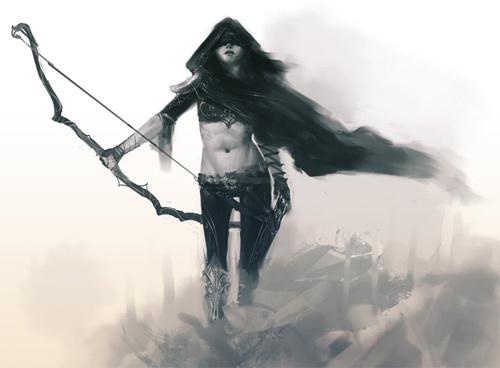 弓箭手<br /> http://tfsean.deviantart.com/art/Archer-322951783