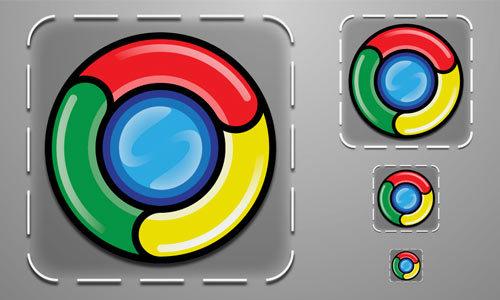 Chrome Icon<br /> http://fsgdesigns.deviantart.com/art/Chrome-Icon-179409163