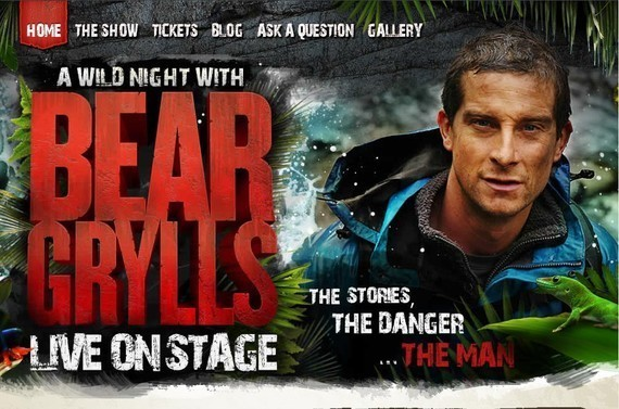 Bear Grylls Live<br /> http://www.beargryllslive.com/