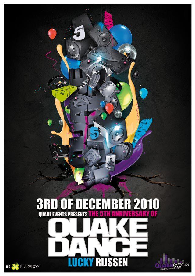 Quake Dance Flyer<br /><br /> http://fla4flav.deviantart.com/art/QuakeDance-flyer-182418410