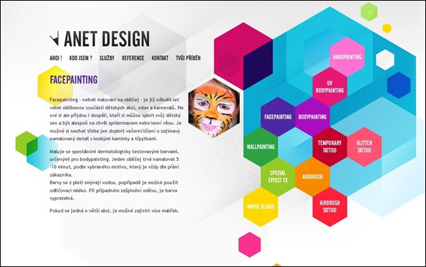 Anet Design<br /> http://www.anet-design.cz/facepainting.php