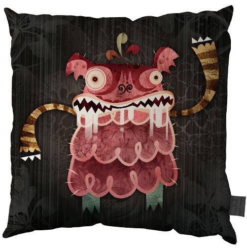 超可爱的怪物抱枕-价格不菲哦