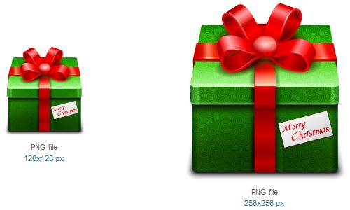 礼品2图标<br /><br /> 24×24像素,32×32像素,48×48像素,64×64像素,96×96像素,128×128像素和256×256像素<br /><br /> http://www.softicons.com/free-icons/holidays-icons/christmas-2010-icons-by-iconshock/gift-2-icon